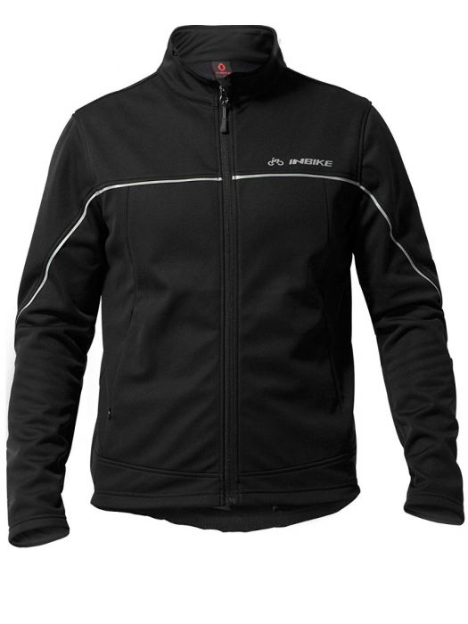 INBIKE Men Winter Thermal Cycling Jacket Black