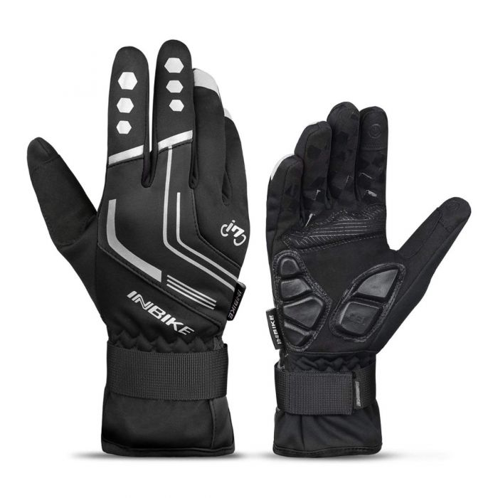 INBIKE Winter Cycling Gloves Black