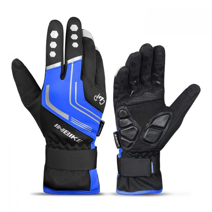 INBIKE Winter Cycling Gloves Blue