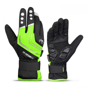 INBIKE Winter Cycling Gloves Green