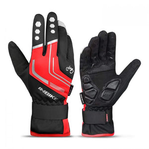 INBIKE Winter Cycling Gloves Red