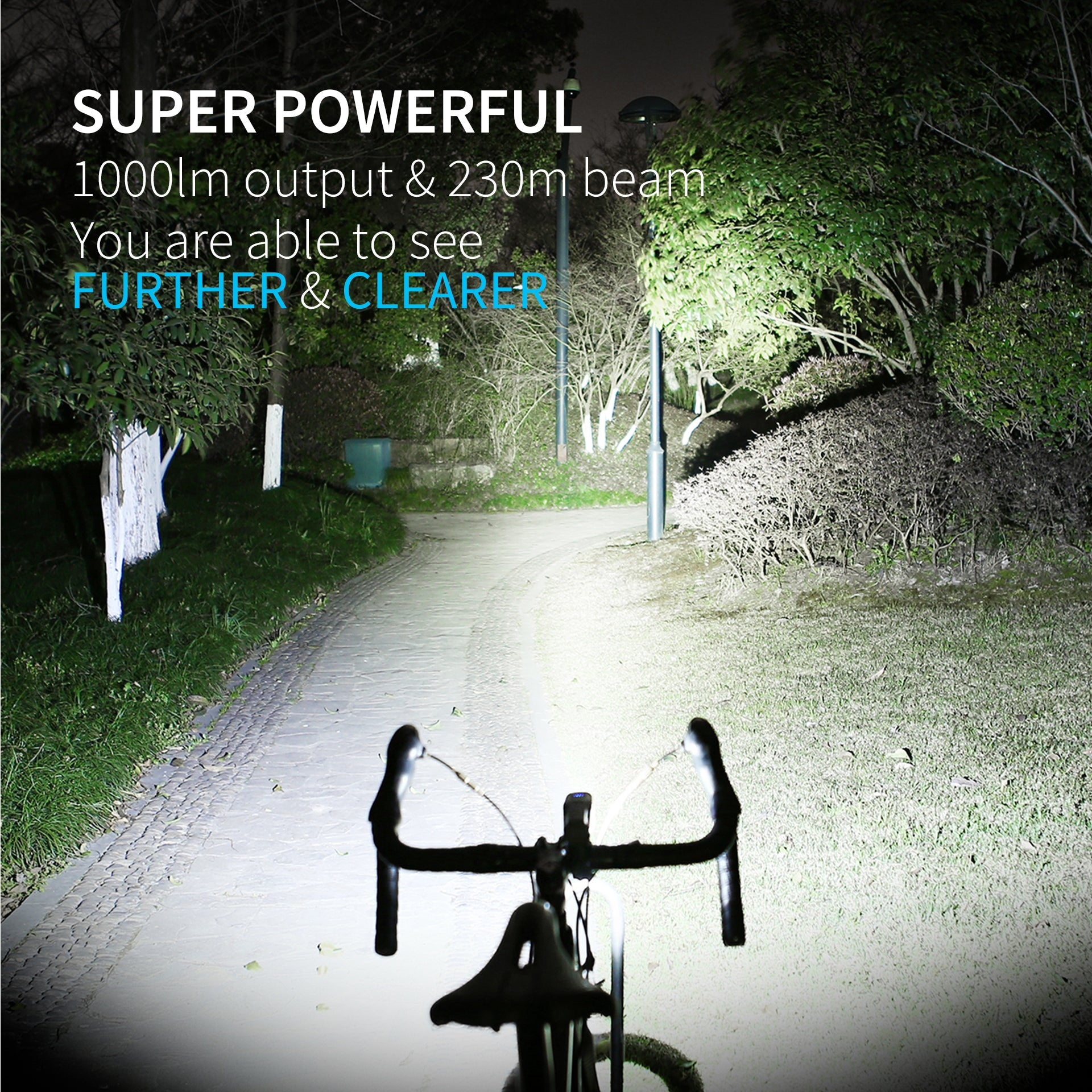 super powerful bike headlight