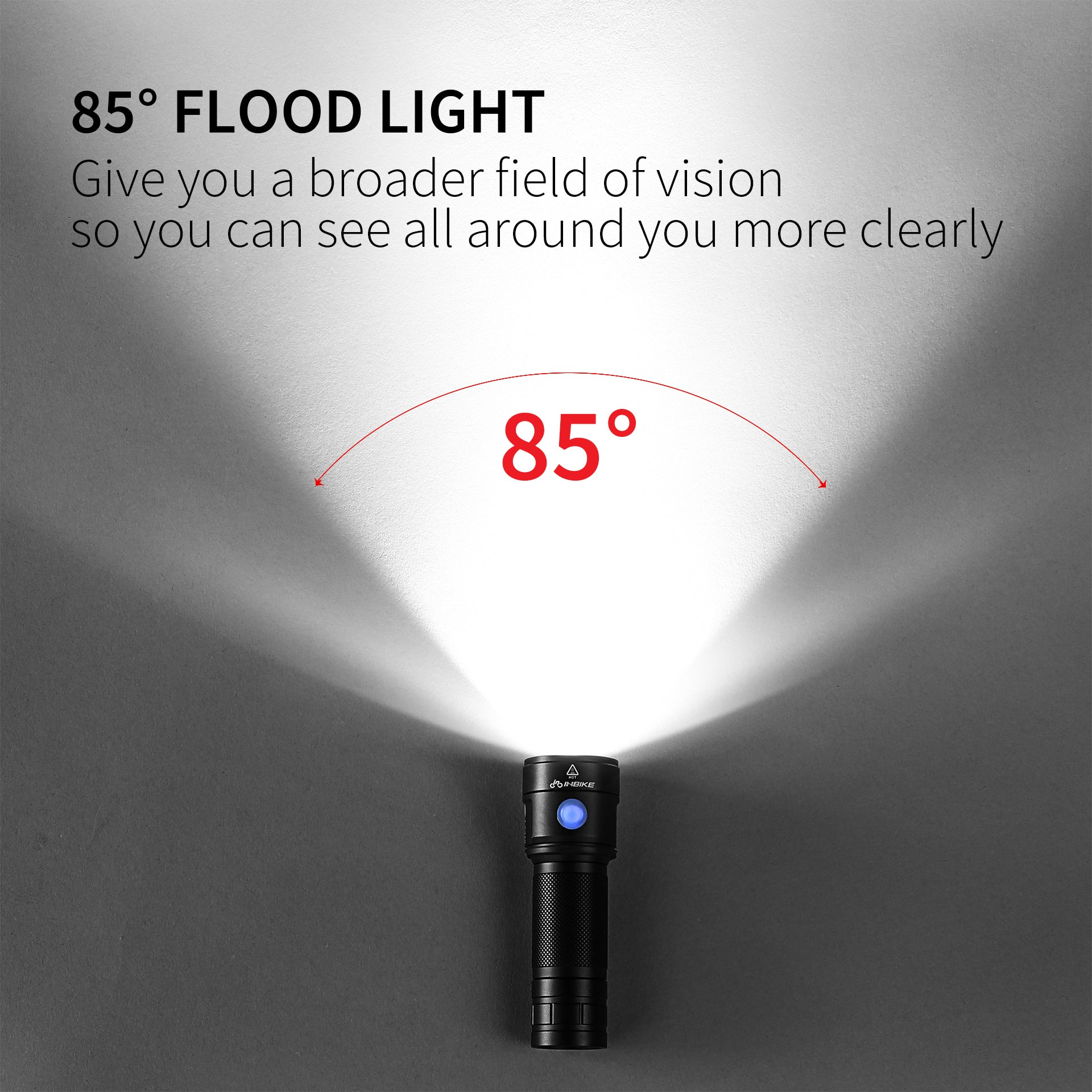 85 degree flood light