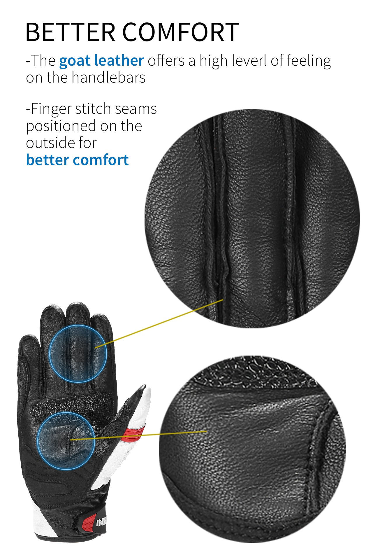 comfortable gloves