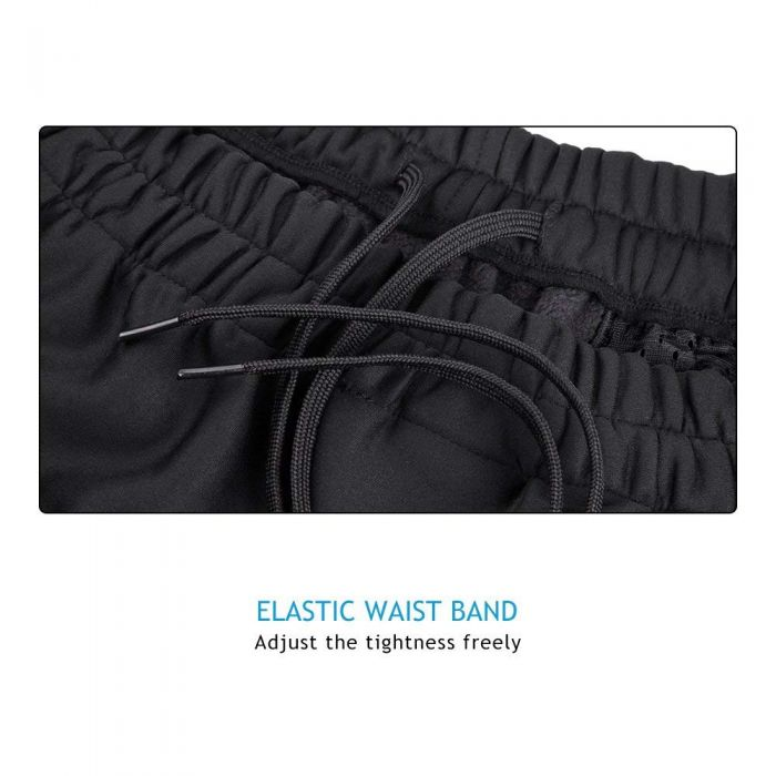 elastic waist band cycling pants