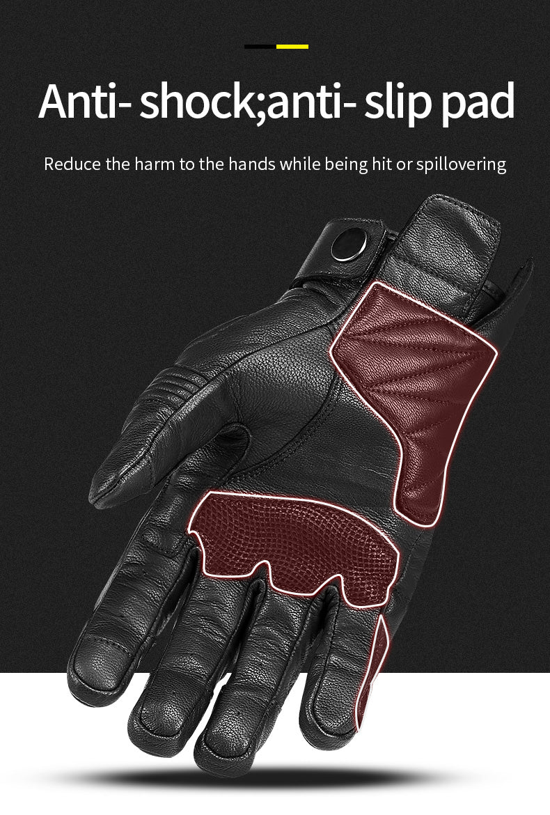 INBIKE Carbon Fiber Motorcycle Gloves