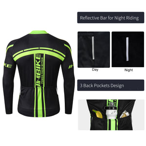 back design of INBIKE jersey