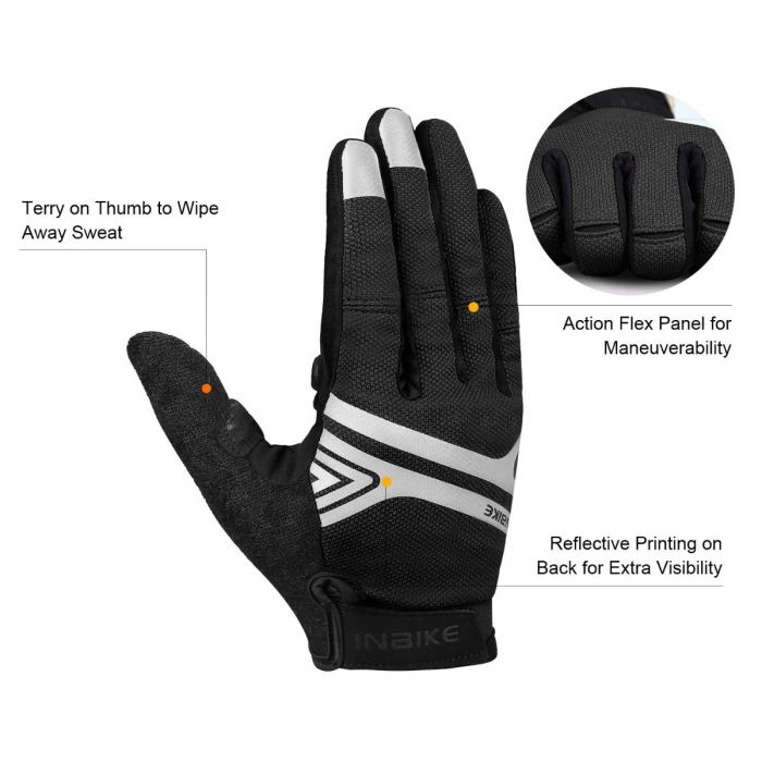 full finger road cycling gloves