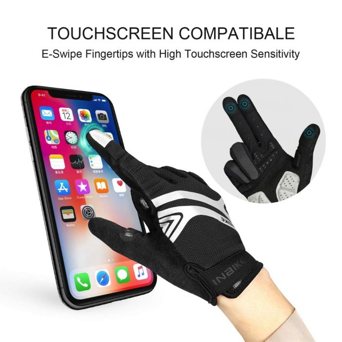touch screen mtb gloves