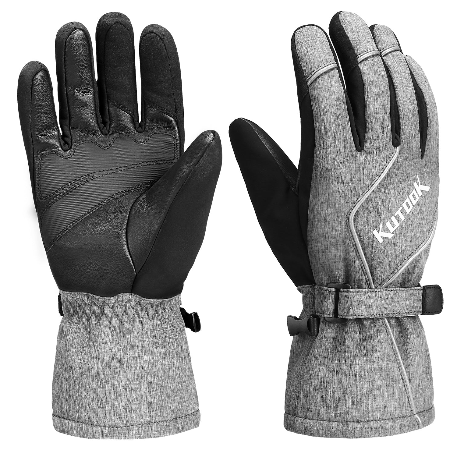 Full Finger Waterproof Ski Gloves