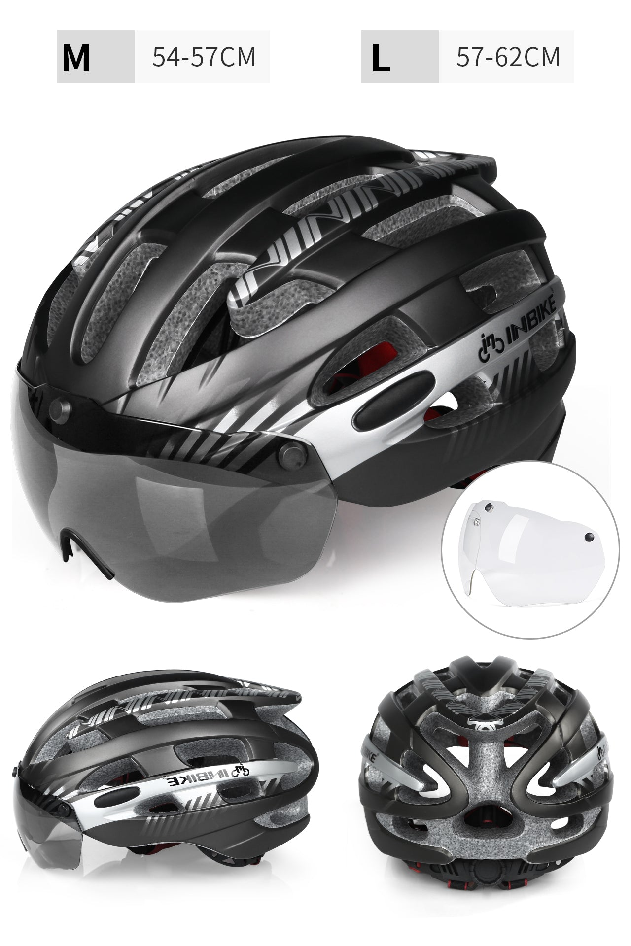 INBIKE Bike Helmet & UV Proof Lens