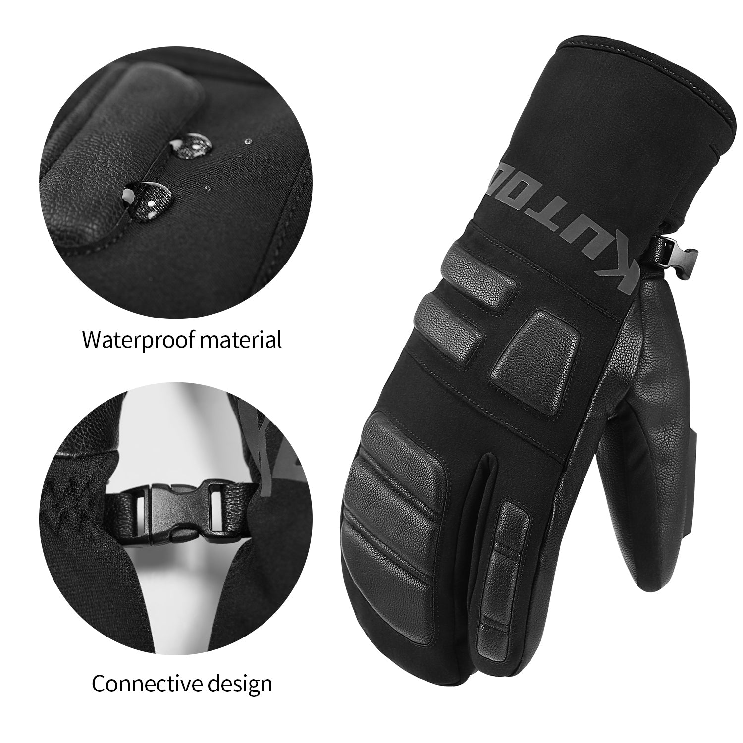 Winter Ski & Snowboard Gloves