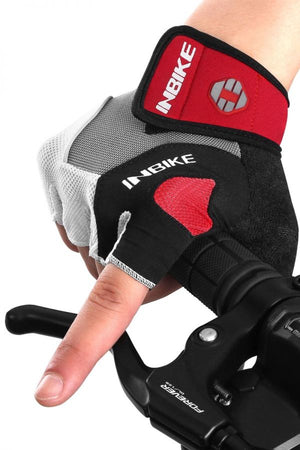 half finger mountain bike gloves