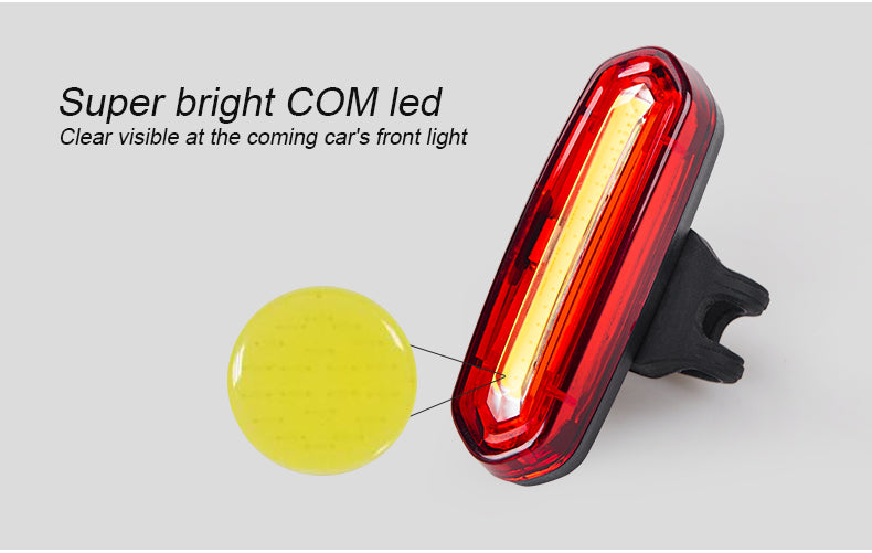 INBIKE USB RECHARGEABLE LED REAR LIGHT