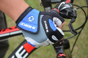 INBIKE Breathable Short Finger Bike Gloves