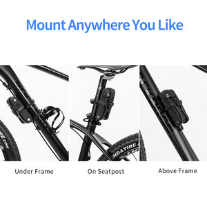 mount bicycle lock anywhere your bike