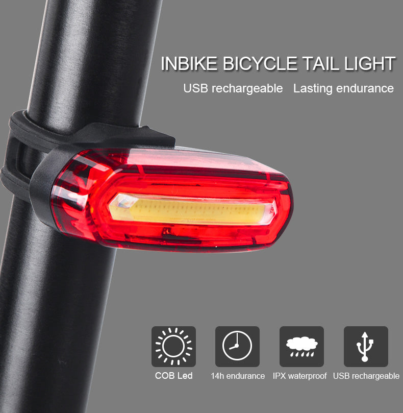 INBIKE City and Cross Country Bicycle Headlight