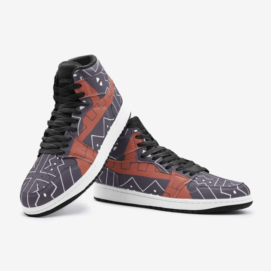 African Bogolan Mud Cloth unisex sneaker TR - Men's Shoes