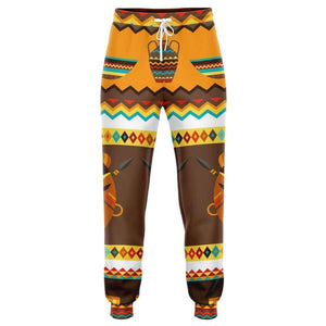 African Djembe Masks Jogger - XS - Athletic Jogger - AOP