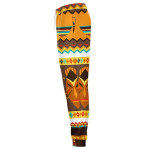 African Djembe Masks Jogger - Athletic Jogger - AOP