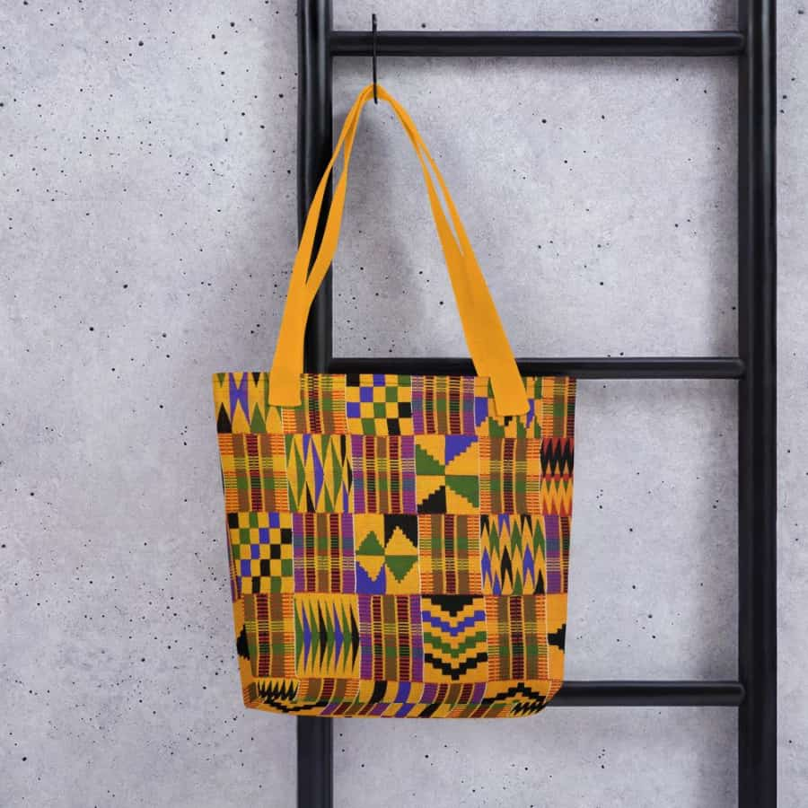 African Kente Tote bag