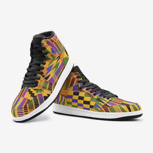 African kente Unisex Sneaker Shoes - Men's Shoes