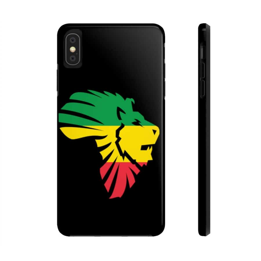 African LionHead Case Mate Tough Phone Cases - iPhone XS MAX - Phone Case