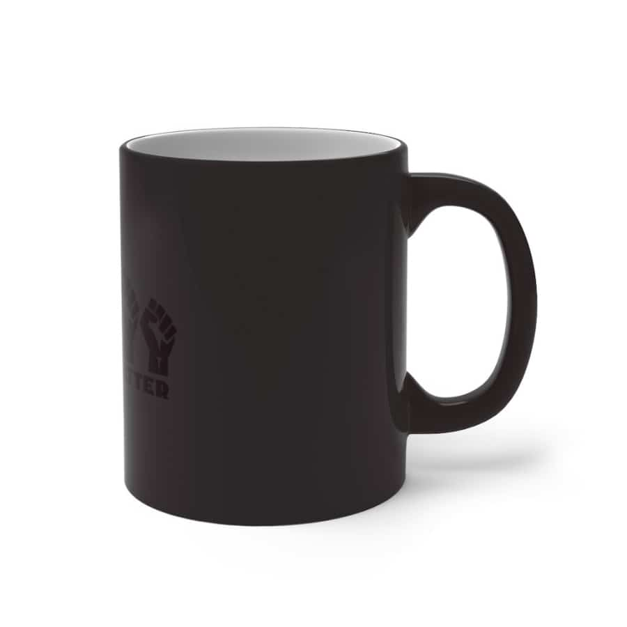 Afrocentric 5 Fists Color Changing Mug - Mug