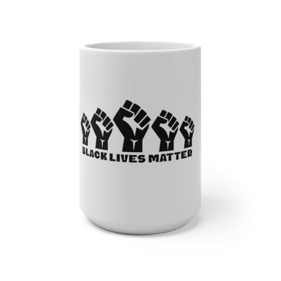 Afrocentric 5 Fists Color Changing Mug - 15oz - Mug
