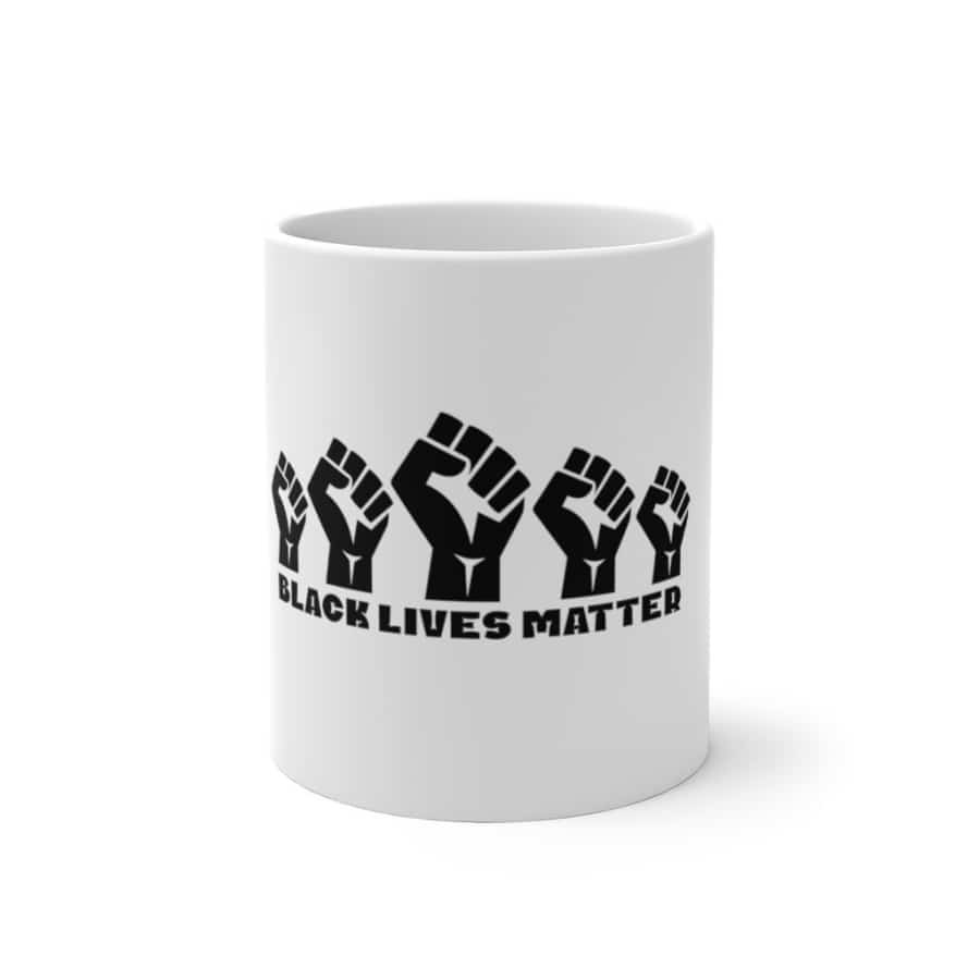 Afrocentric 5 Fists Color Changing Mug - 11oz - Mug