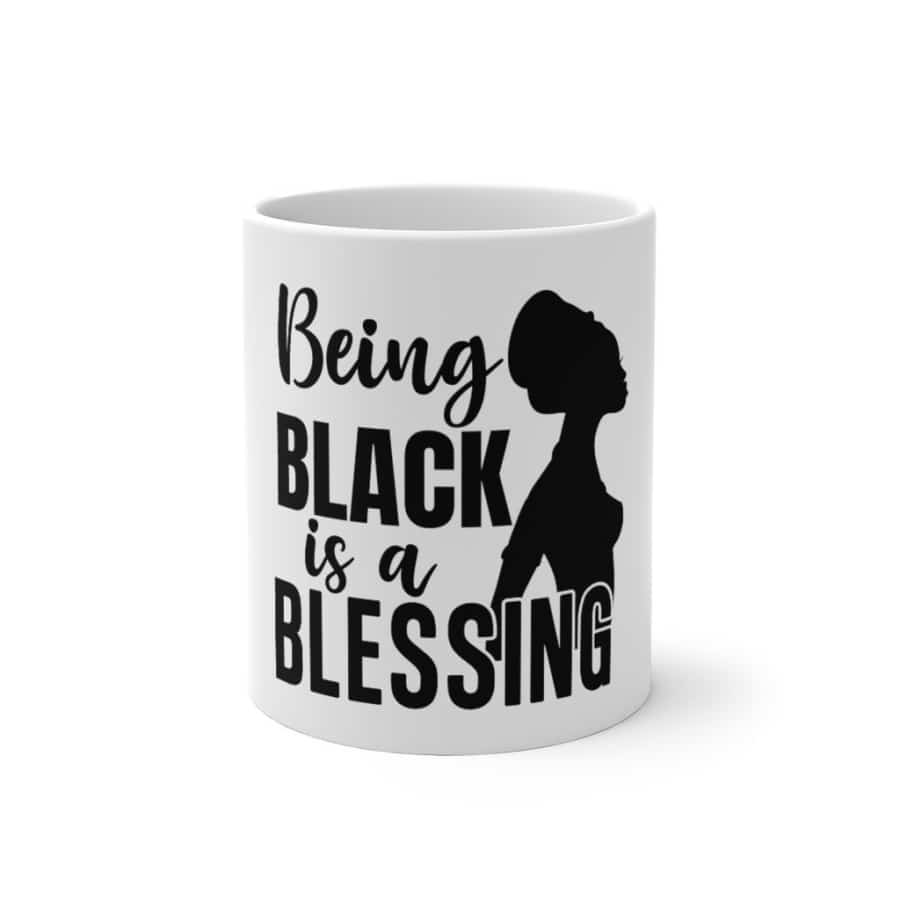 Afrocentric Being Black Is A Blessing Color Changing Mug - 11oz - Mug