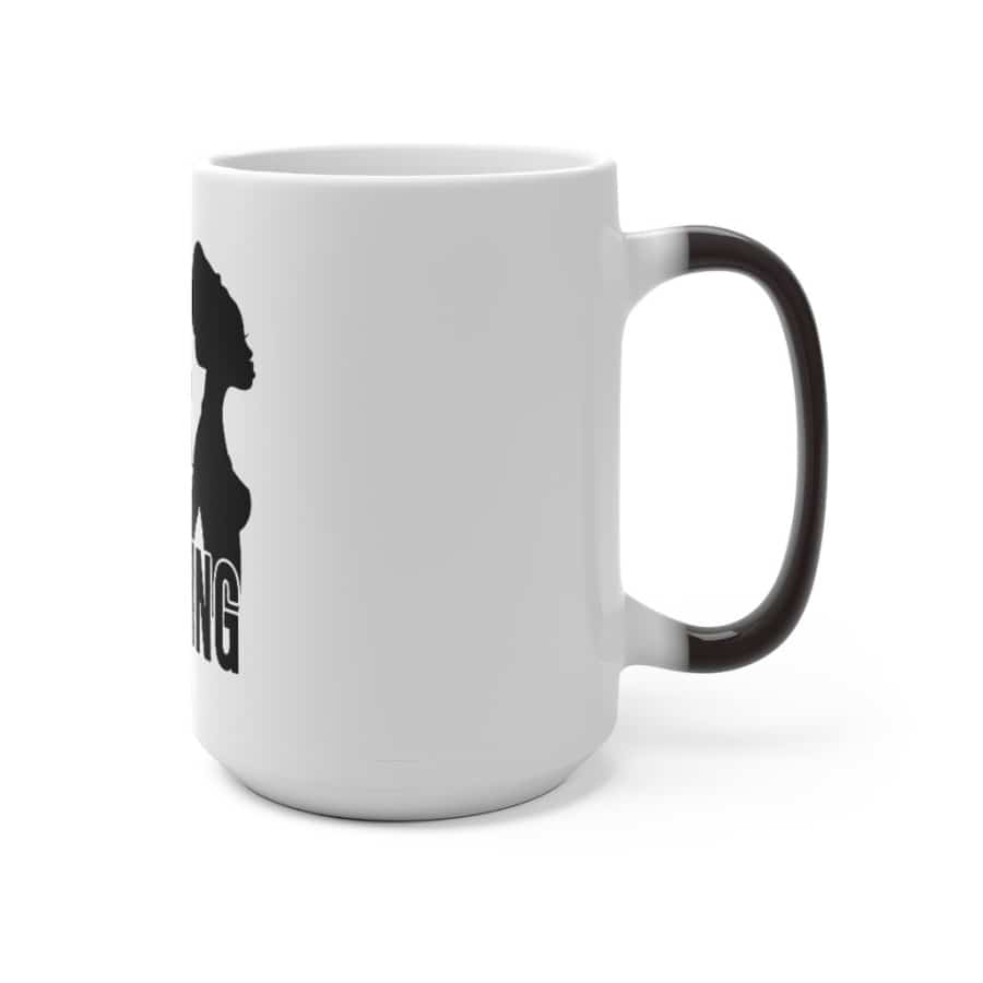 Afrocentric Being Black Is A Blessing Color Changing Mug - Mug
