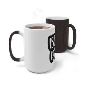 Afrocentric BLACK AND PROUD Color Changing Mug - Mug