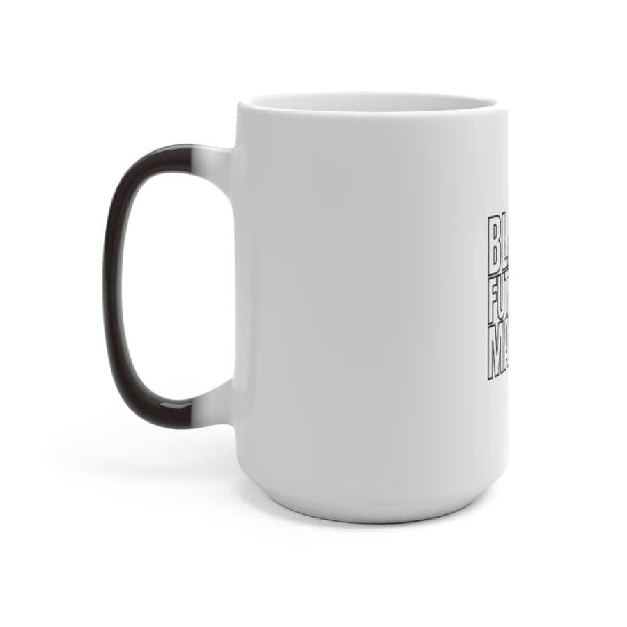 Afrocentric Black Futures Matter Color Changing Mug - Mug