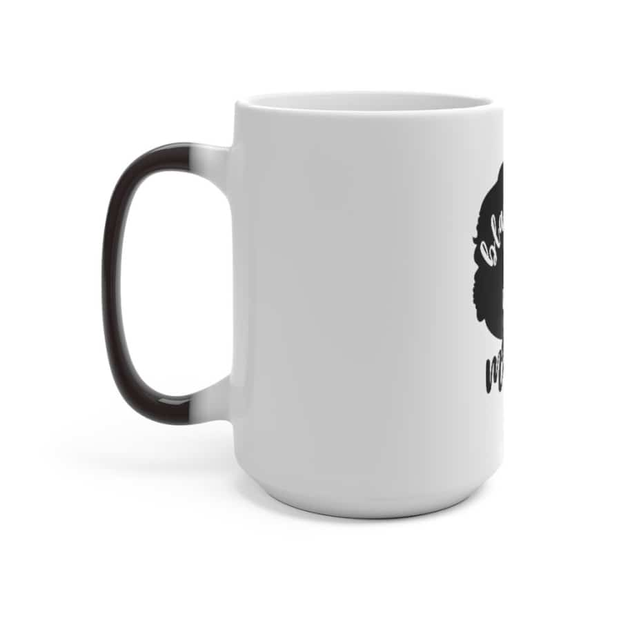 Afrocentric Black Girl Magic Color Changing Mug - Mug