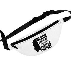 Afrocentric Black History Fanny Pack - One Size - Bags