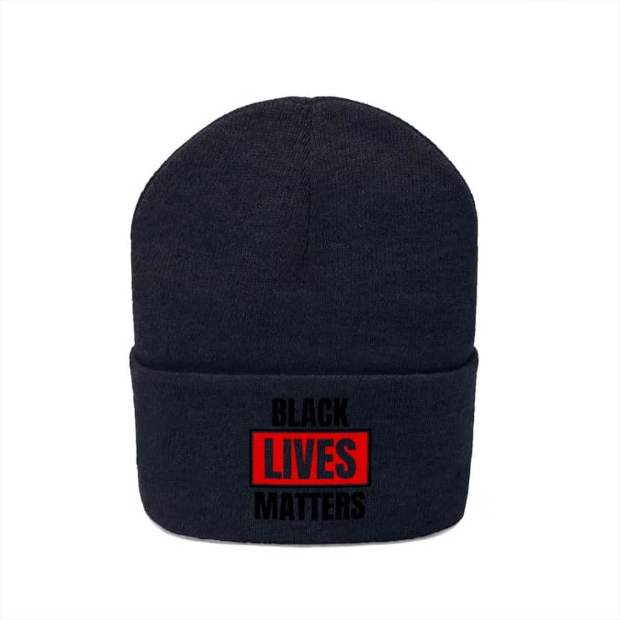 Afrocentric Black Lives Matter Knit Beanie - Hats
