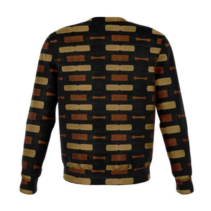 Afrocentric Bogolan Sweatshirt - Athletic Sweatshirt - AOP
