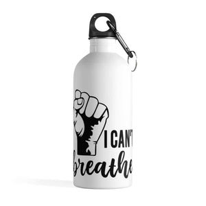 Afrocentric I Can't Breathe Water Bottle - 14oz - Mug