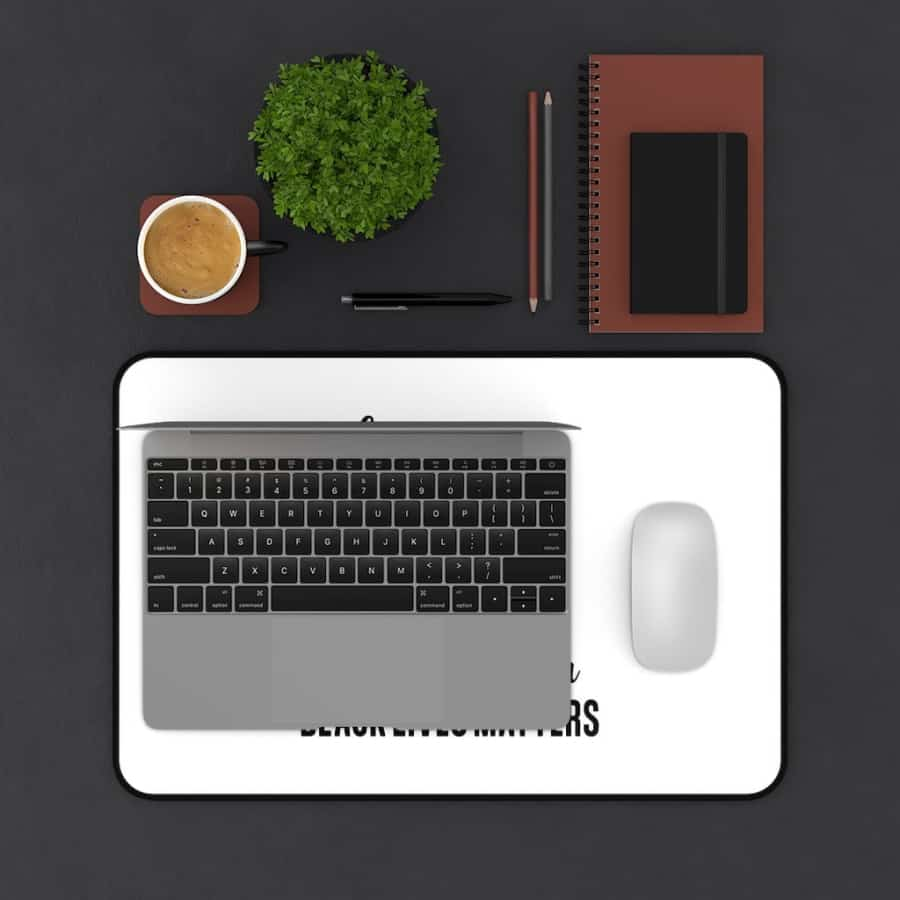 Afrocentric If You Are Not Angry Desk Mat - Home Decor