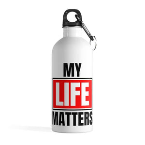 Afrocentric My Life Matters Water Bottle - 14oz - Mug
