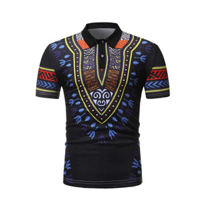 African Muscle Polo - L - Men's