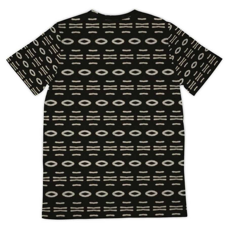 Bogolan B W Cauris Pocket T-shirt - Pocket T-shirt - AOP