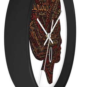 Modern Afro Queen Wall clock - Home Decor