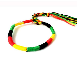 Punk ethnic style handmade cotton bracelet - Random - Accessories