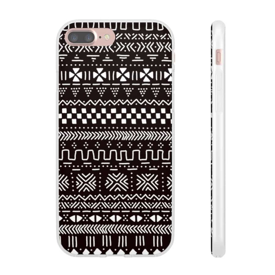 Tribal African Tribal Flexi Cases - iPhone 7 Plus - Phone Case