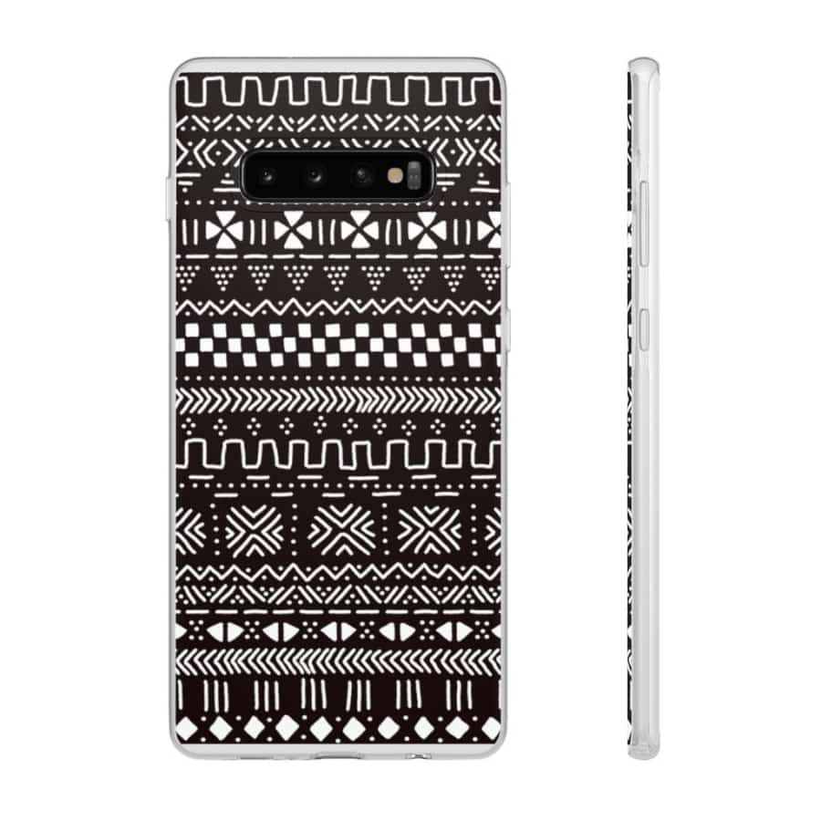 Tribal African Tribal Flexi Cases - Samsung Galaxy S10 Plus - Phone Case