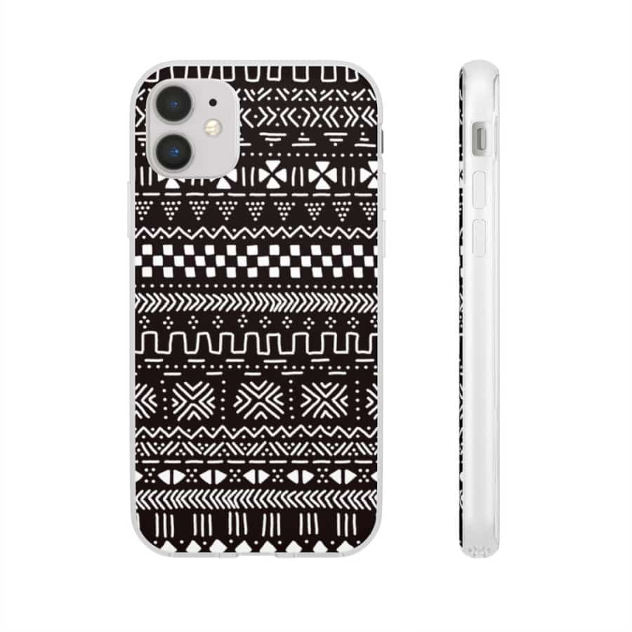 Tribal African Tribal Flexi Cases - iPhone 11 - Phone Case