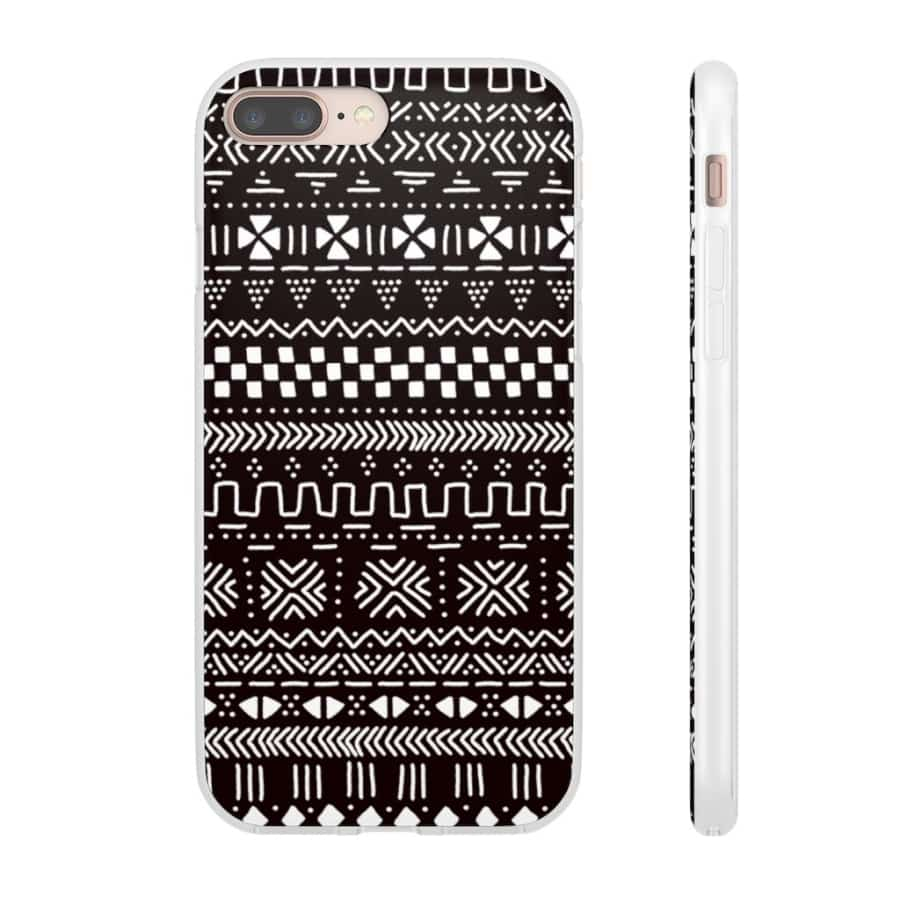 Tribal African Tribal Flexi Cases - iPhone 8 Plus - Phone Case