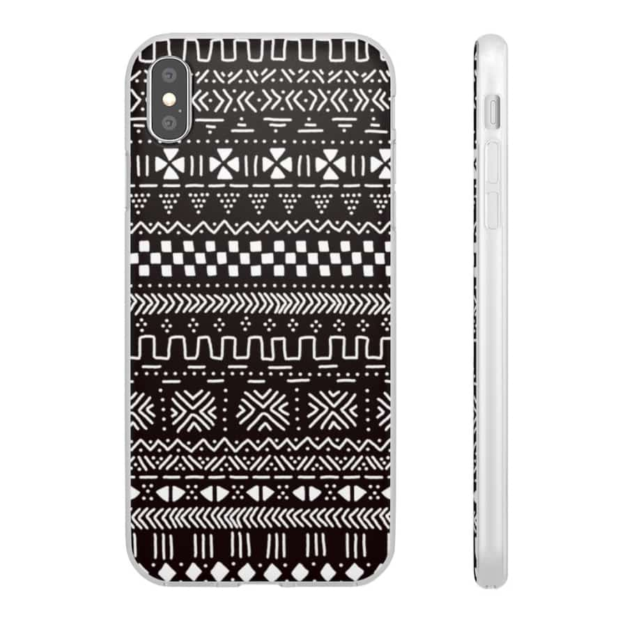 Tribal African Tribal Flexi Cases - iPhone XS MAX - Phone Case